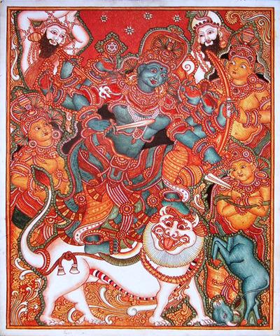Durga - Mahisha Mardhini