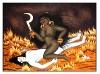 Kali Astride Shiva