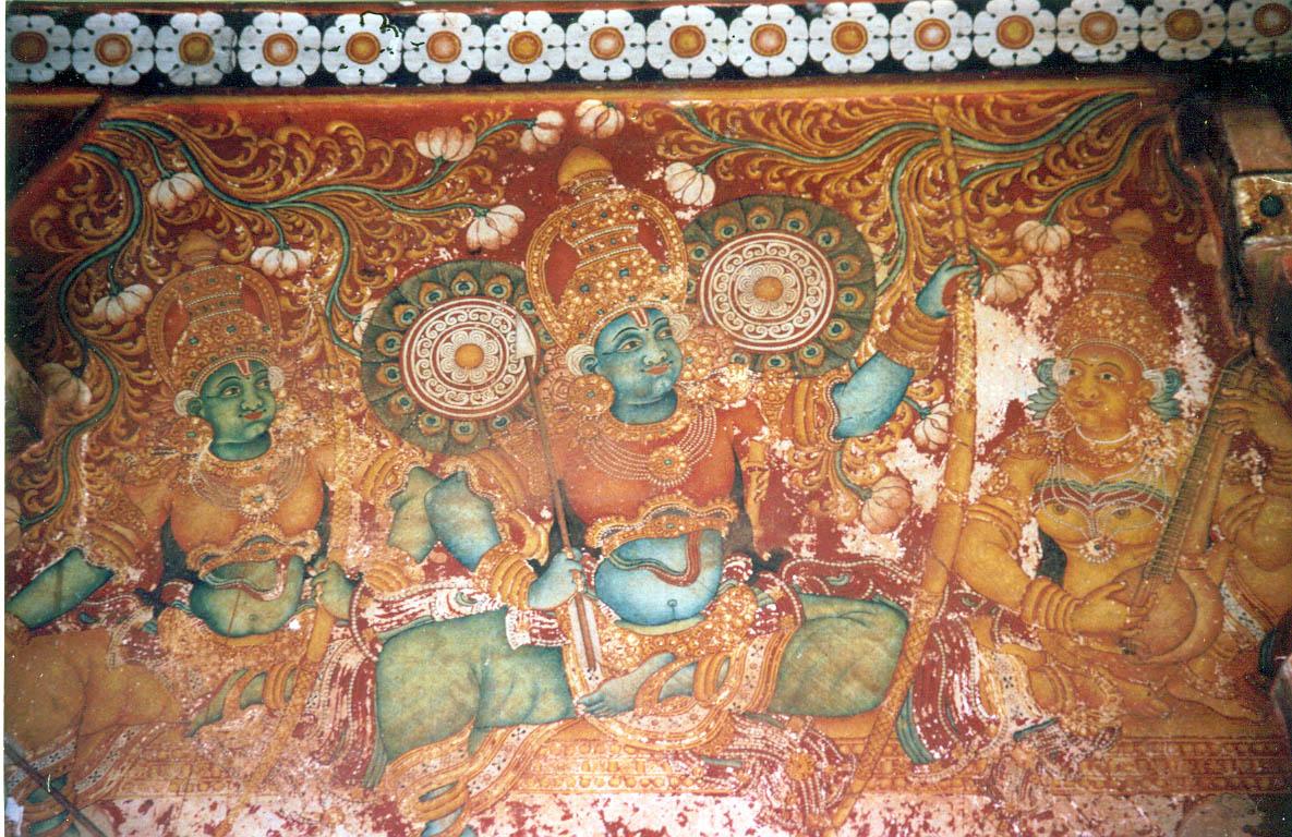 Sree Rama Mural from the Kotakkal Temple