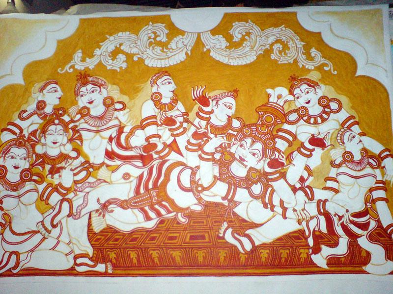 Krishna\'s Raasakreeda - 03