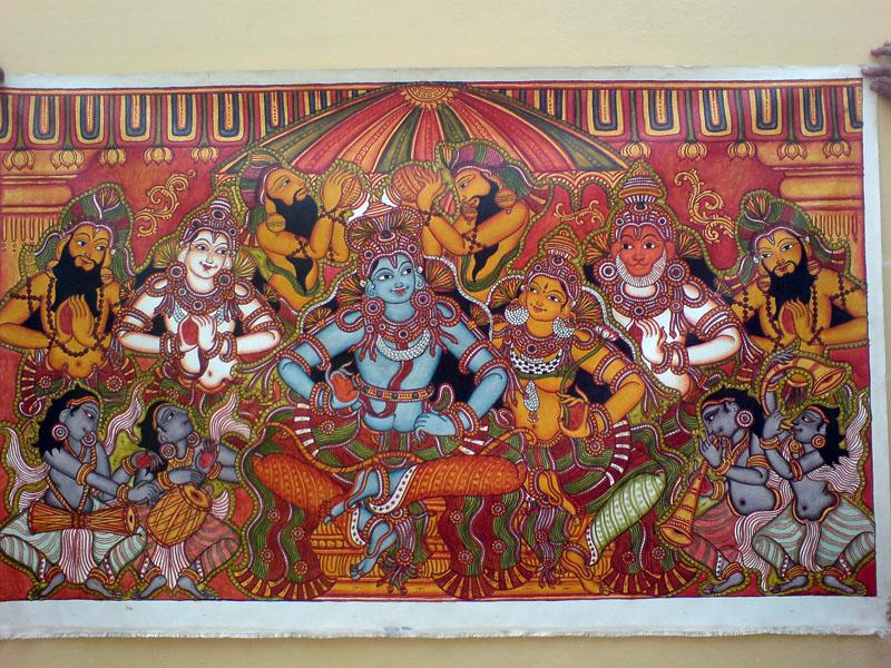 Shri Ramachandra Pattaabhishekham - Final