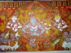 Shri Ramachandra Pattaabhishekham - The last stages, blue makes its appearance..