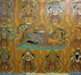 Dasavatharam - Traditional Kerala Mural Painting