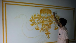 Naveen at Work: Aarumugham, Mahaganapathi Vattom Temple, Sultan Bathery, Wynad