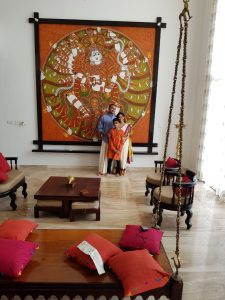 Nataraja: at the residence of Smita & Anand Menon in Bangalore